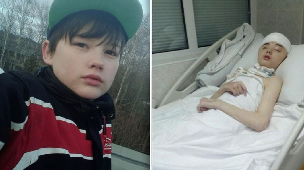 Teen boy who saved his mother from shocking attack dies