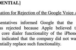 Google contradicts Apple, states Apple rejected Google Voice