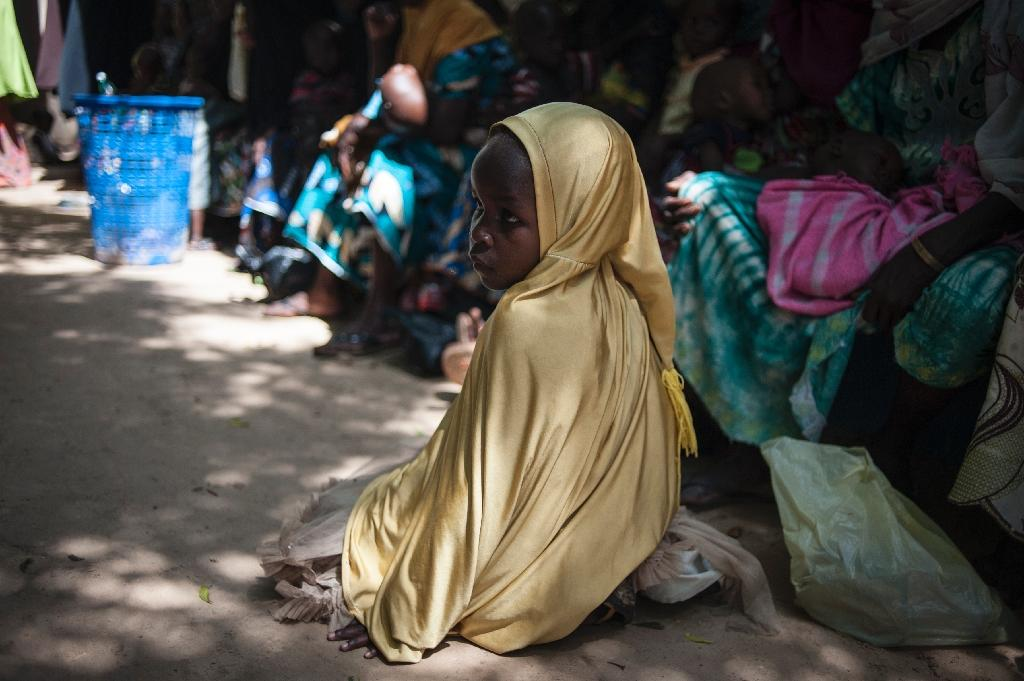 In July, the United Nations said nearly 250,000 children under five could suffer from severe acute malnutrition this year in Borno state alone and one in five -- some 50,000 -- could die before the end of the year (AFP Photo/Stefan Heunis)