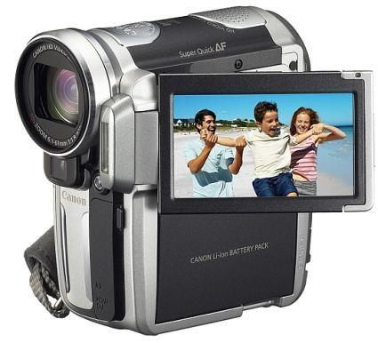 Canon intros first consumer HD camcorder, the iVIS HV10