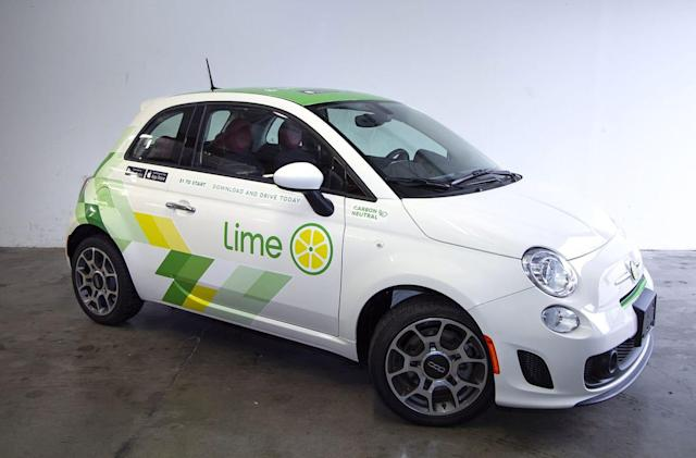 Lime launches its first car-sharing service in Seattle