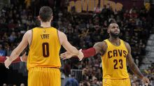 LeBron James' Cavs lead by as many as 45 in a thrashing of league-worst Dallas