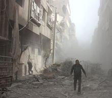 Syria Aid Worker: 'A Motionless World' Is Watching 'Wholesale Slaughter'