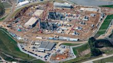 PHOTOS: Duke Energy shows off construction progress at $893M Asheville gas plant