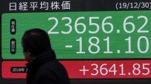 La Bolsa de Tokio vuelve a caer por los malos datos del PIB nipón