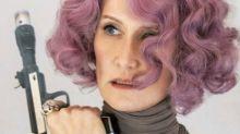 """Laura Dern decía """"piu, piu"""" cada vez que disparaba en Los últimos Jedi"""