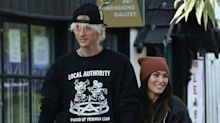 Megan Fox and Machine Gun Kelly Step Out in L.A. Holding Hands After Brian Austin Green Drama