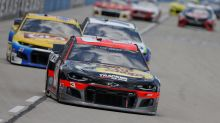 Austin Dillon survives flurry of late restarts to win at Texas