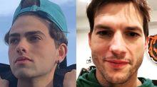 """Mario do TikTok diz que se acha parecido com Ashton Kutcher: """"Mesmo queixo"""""""