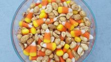 Ultimate Halloween Candy Hack: Eat Candy Corn With Peanuts