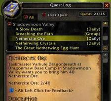 Your daily dose of questing