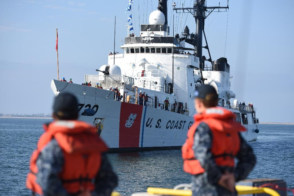 United States Coast Guard patrol boats shuttled 161 migrants to Bahia de Cabanas, Cuba on three separate trips made Monday, Thursday and Friday, the agency said in a statement