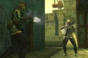 Metal Gear Solid: Portable Ops multiplayer demo