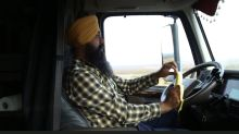 America has a truck driver shortage, and Sikhs step up to fill it