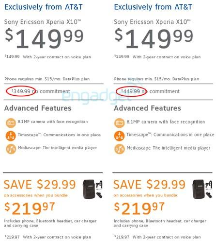 AT&T jacking some no-contract smartphone prices to keep pace with new early upgrade fee