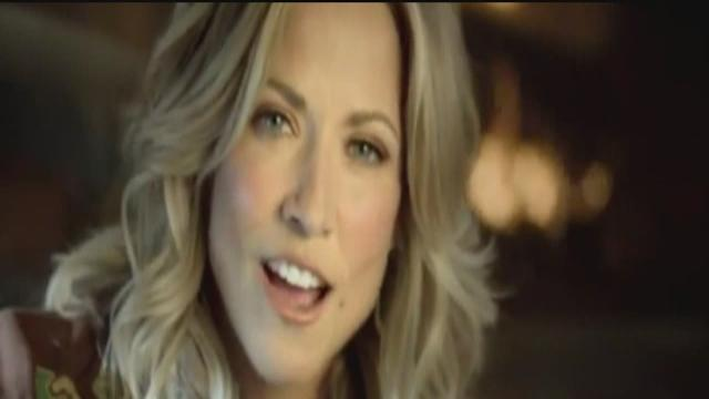 Sheryl Crow at the North American International Auto Show