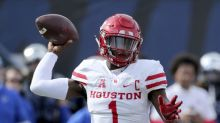 Houston star QB Greg Ward invited to combine as WR, following a familiar path