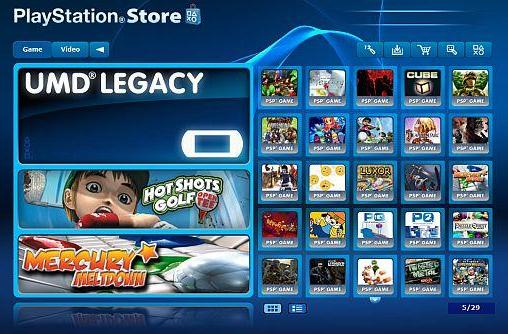 Sony blames legal hurdles for lack of downloadable UMD games in America
