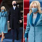 Designer of Jill Biden's inauguration outfit says her dress symbolizes 'trust, confidence, and stability'