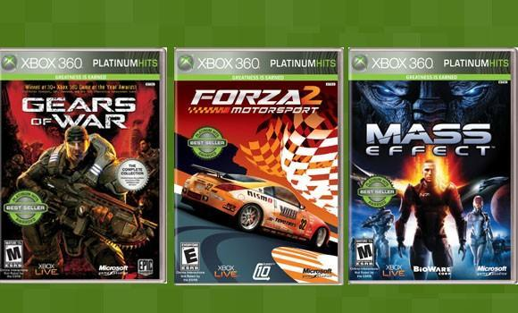 Xbox 360 Platinum Hits are numerous, cheap, rebranded