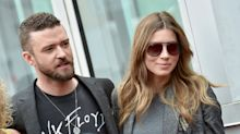 Justin Timberlake is back in the studio — and back with Jessica Biel — after PDA scandal