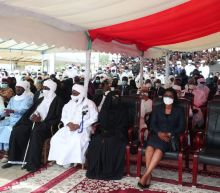 """Thousands gather to wish Chad's slain president """"a deserved rest"""""""