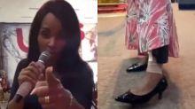 Flordelis canta e aponta tornozeleira eletrônica: 'Isso não prova nada'