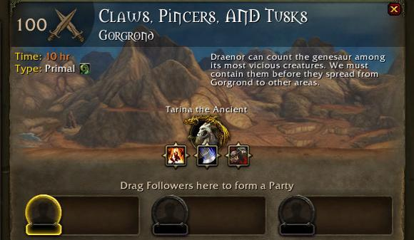 Patch 6.1: Claws, Pincers, and Tusks nerfed