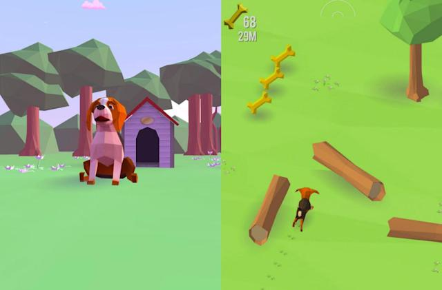 Take the internet's best dogs for simulated runs with 'Good Dogs'