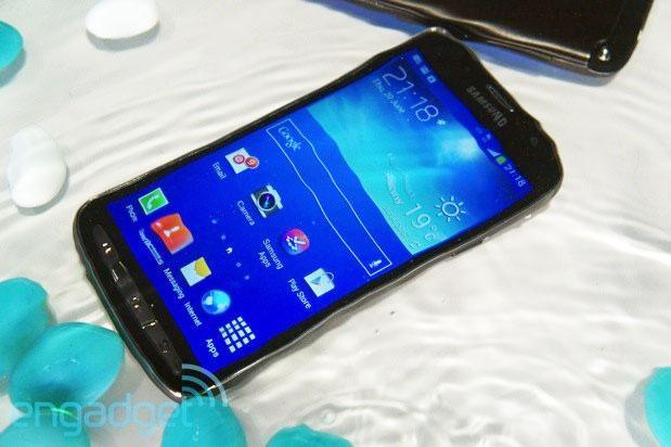 Samsung Galaxy S4 Active hands-on (video)