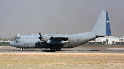 Chilean Air Force plane disappears with 38 aboard