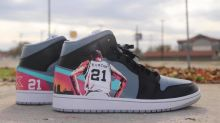 A Spurs fan created the perfect San Antonio-centric sneakers