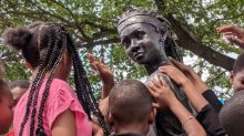 'About time': Philadelphia unveils first statue of African American girl