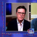 Stephen Colbert Grills Bernie Sanders: Are You Endorsing Biden or Not?
