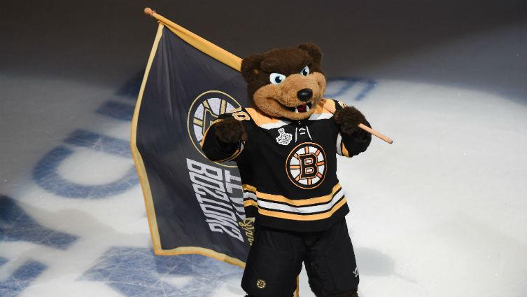 Bruins Mascot Gets Involved With Sweet Goal At Nhl All Star Game