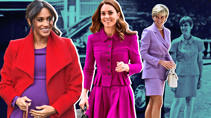 Kate and Meghan had one thing in common this week