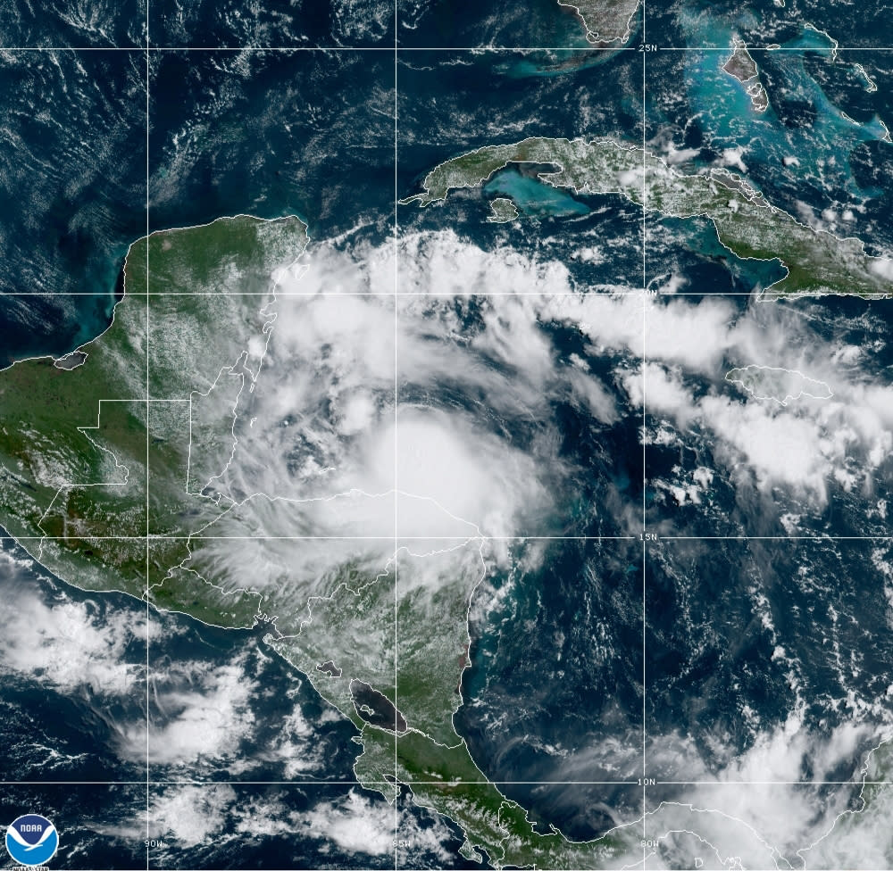 """Hurricane Center focused on 3 potential systems as TD Omar fades away"""""""