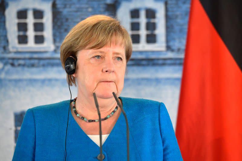 Germany's Merkel discusses Ukraine agreement in call with Putin, spokesman says