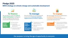 BBVA to mobilize €100 billion by 2025 to fight climate change and drive sustainable development