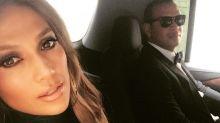Engalanados Jennifer Lopez y Alex Rodriguez