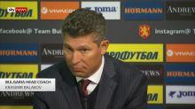 Bulgaria's head coach 'did not hear' racist chanting