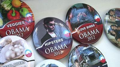 Obama merchandise on sale at DNC in Charlotte