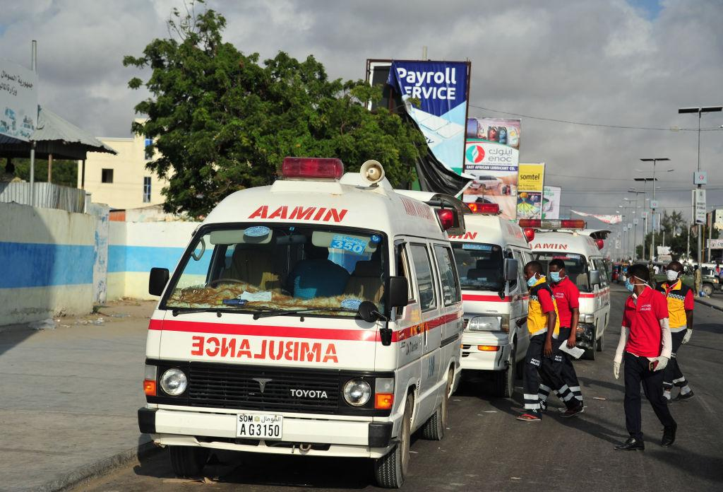 <p>Abdikadir Abdirahman, the director of Amin ambulances, said more than 300 people have been found dead. The number is expected to keep rising, as rescue workers continue to search through the rubble. (Getty) </p>