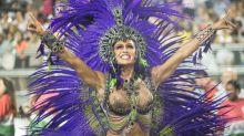 Gracyanne Barbosa reaproveita roupas de Carnaval