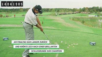 Vor 35 Jahren: Langer schreibt Golf-Geschichte