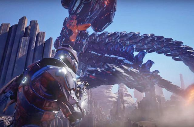 'Mass Effect: Andromeda' cinematic trailer goes full space opera (updated)