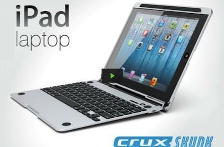 CruxSKUNK Kickstarter project: iPad laptop case with a smelly name