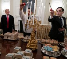 President Trump Feeds College Football National Champions 'Hamberders' and Twitter Can't Stomach It