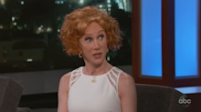 Kathy Griffin says she's pro-government because the FBI saved her life