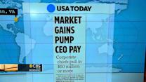 Headlines: CEOs make mega bucks with stock options